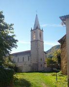 L'église de La Freyssinie - Vue extérieure